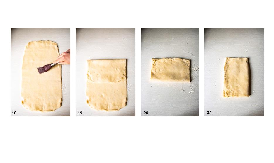 Pâte feuilletée inversée (pas à pas)