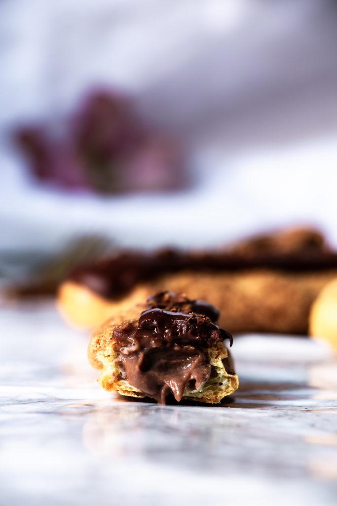 éclairs au chocolat