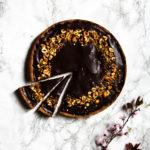 Tarte chocolat sarrasin noisettes