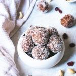 Energy balls canneberges noix de cajou