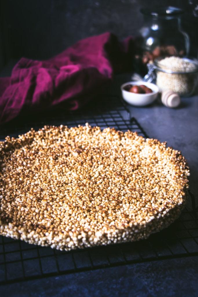 Fond de tarte quinoa soufflé