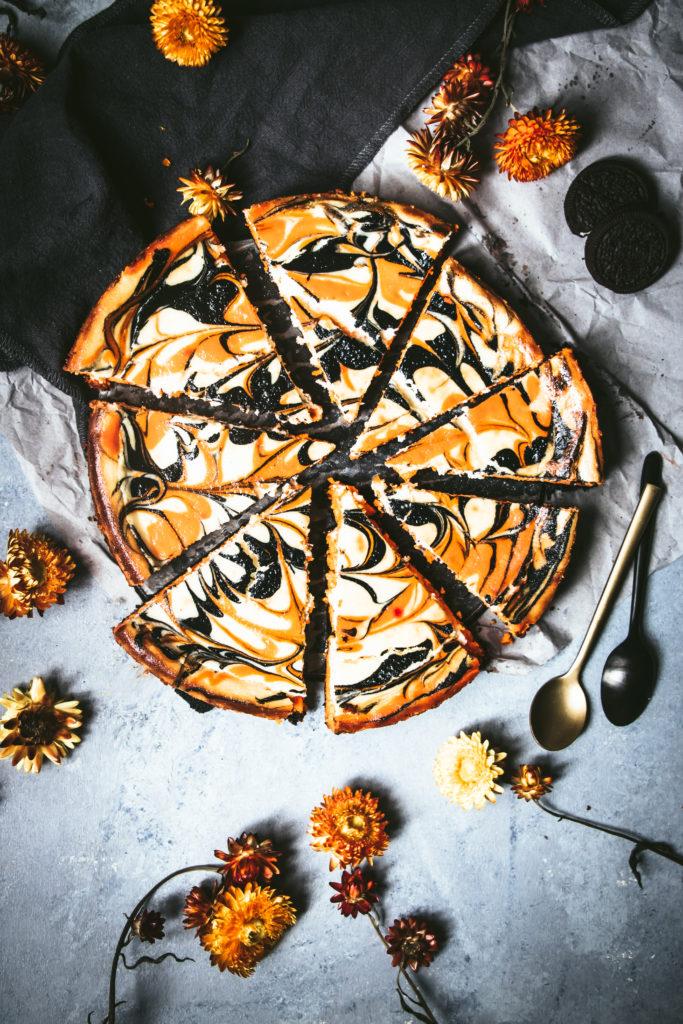 Cheesecake Halloween