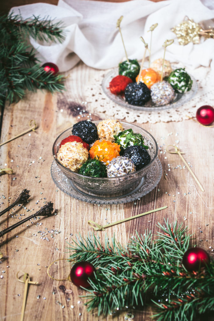 boulettes de chèvre Noël