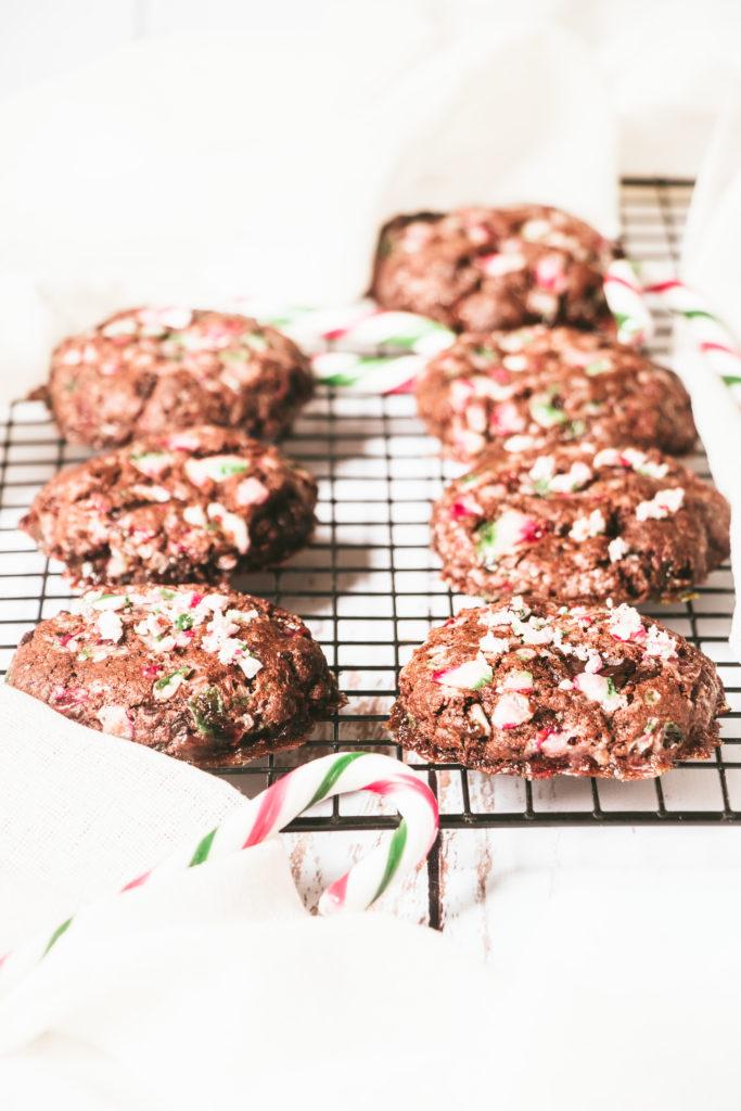 Cookies chocolat et sucre d'orge