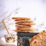 Sandwich biscuits dentelles pâte à tartiner