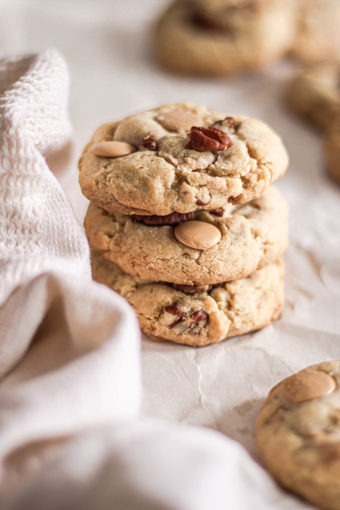 Cookies pacanes caramel