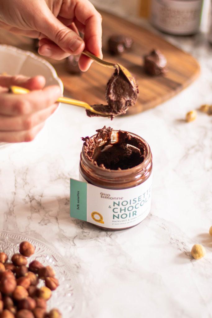 Truffes chocolat noisettes allo simonne