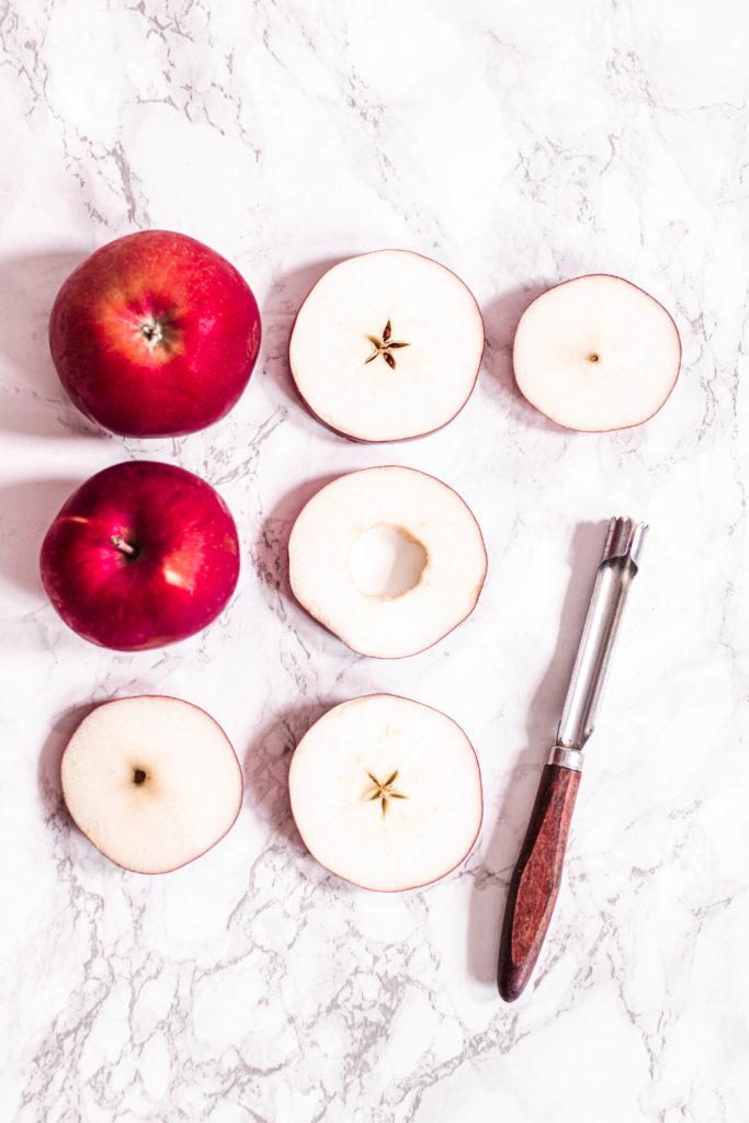 Feuilletés pommes caramel