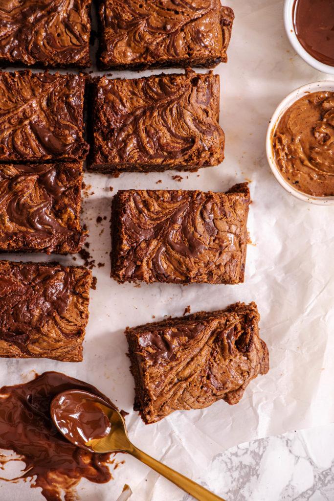 Brownie marbré Allo Simonne