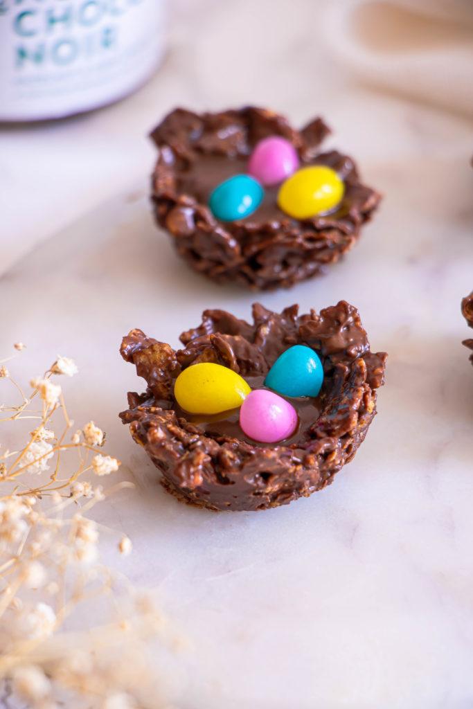 Nids de Pâques chocolat Allo Simonne