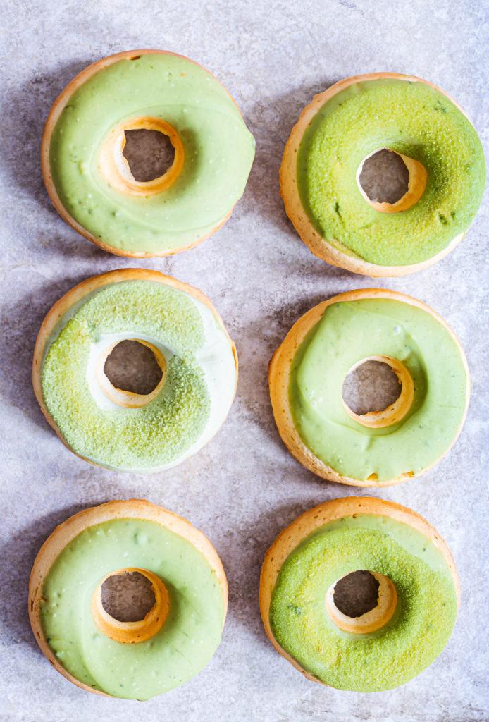 Donuts matcha