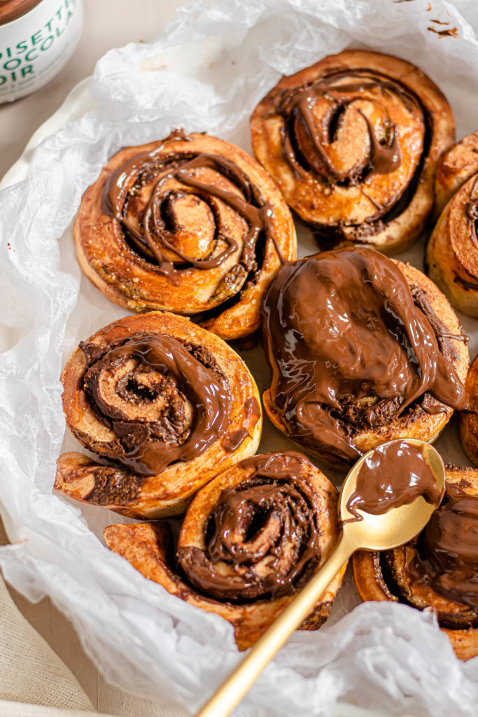 Cinnamon rolls et Allo Simonne