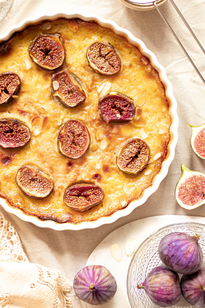 Clafoutis figues healthy