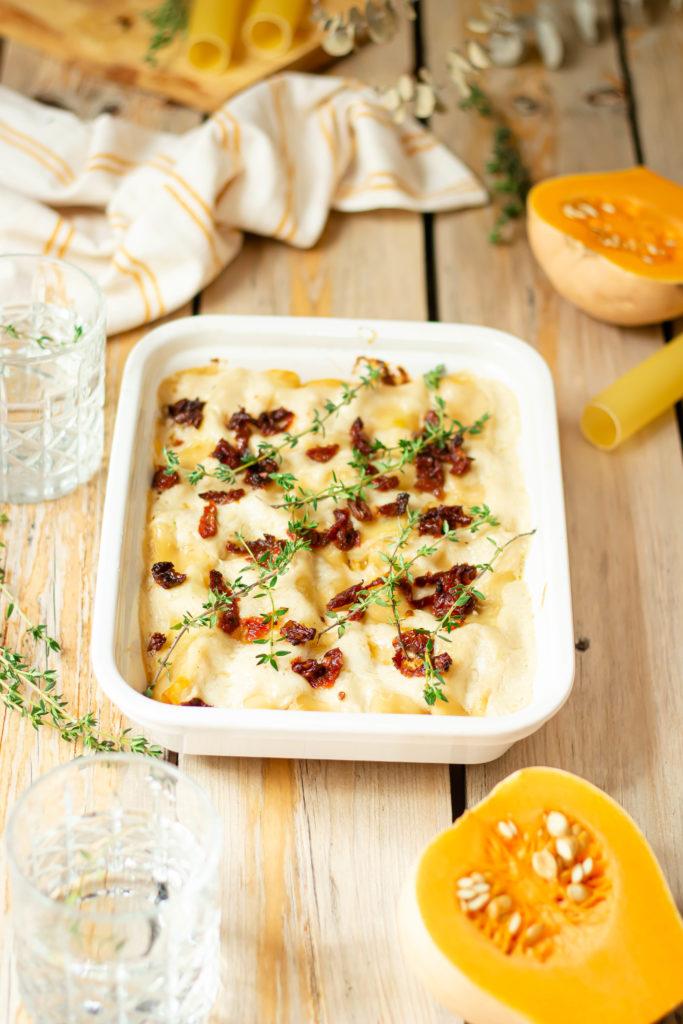 Cannelloni butternut tomates séchées